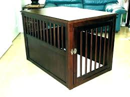 large dog crate table diy coffee end great do diy dog crate table