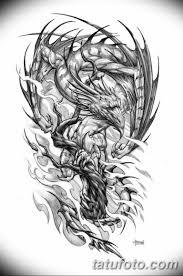 эскиз тату дракон на руку 08032019 Tatufotocom 3 Tatufotocom