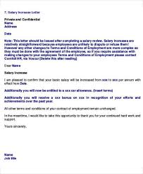 salary increase proposal template employee promotion announcement letter sleresume bonuslettertemplate