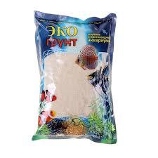 <b>Эко</b> Грунт <b>Кварцевый песок</b> белый 0,3-0,9мм,3,5кг купить ...
