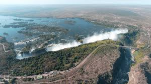 Victoria falls, spectacular waterfall located about midway along the course of the zambezi river, at the border between zambia and zimbabwe. Victoria Falls Safaris Luxury Safaris Vic Falls Zambia Safari Com