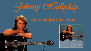 johnny Hallyday en duo avec vicky leandros on a night like this - YouTube
