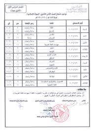جدول امتحانات الشهادة الثانوية السودانية 2021 العلمي