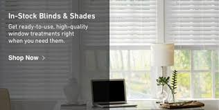 Instock Blinds And Shades Get Readytouse Window Treatments Right