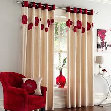 cool home curtain decorations featuring green cream colors fl pattern curtains and double curtain panel and br curtain rod along with gl windows