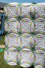 Double Wedding Ring Quilt | quilts i want to make | Pinterest ... & Hand Stitched Double Wedding Ring Quilt by MarthaPearceQuilt, $75.00 Adamdwight.com