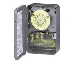 intermatic 125v 24 hour electronic timer smarthome intermatic t103 125v dpst 24 hour dial timer