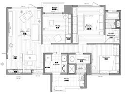 140 Sq Meter House Design 2 Bedroom Modern Apartment Design Under 100 Square Meters 2
