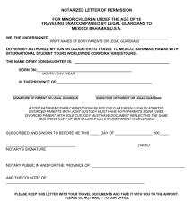 Samples Of Notary Letters 25 Notarized Letter Templates Samples Writing Guidelines