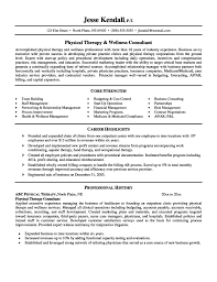 Wellness Consultant Sample Resume Quick And Easy Resume Admission