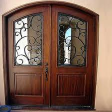 arched double front doors. Montgomery Arch Double Entry Wrought Iron And Solid Wood Door By Adoore Designs Arched Front Doors P