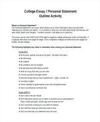 How To Write Essay Outline Outline For Essay Example Personal Essay Sample Essay Outline