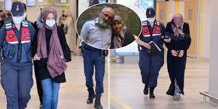 Gözaltındaki Büşra Büyükşen ve diğer kadın şüphelilerden yeni görüntü