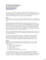 Sample Bid Letters Bid Response Template