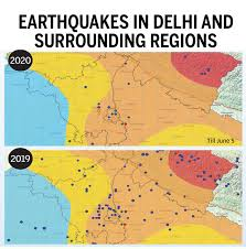 Also, such maps are used or looked before the construction of high rise building so as to check the level of seismology in any particular area. Should Delhi Be Worried About A Major Earthquake Times Of India