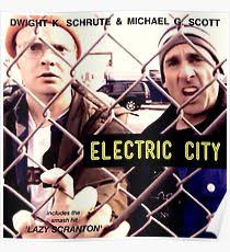 the office poster. Electric City Album Artwork Poster The Office