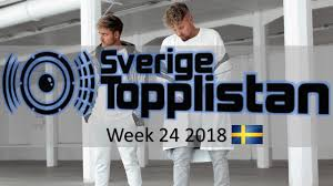 Swedish Singles Chart The Official Swedish Singles Chart Top 20 Week 24 June 11th 2018