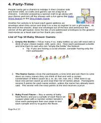 Baby Shower To Do List Template Gift Free Checklist – Ilford