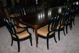 bett dining room table modern cherry dining room table and set of painted black regency dining