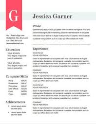 Pinterest     The world     s catalog of ideas Pinterest Resume Template The Garner Resume Design Instant by itsprintable