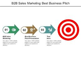 B To B Sales B2b Sales Marketing Best Business Pitch Presentation
