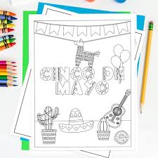 To link to cinco de mayo page, copy the following code to your site Free Printable Cinco De Mayo Coloring Pages For Kids