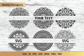 Download jack skellington icon vector now. Mandala Split Monogram Svg Affiliate Sponsored Split Mandala Svg Monogram In 2020 Monogram Svg Mandala Monograms Svg