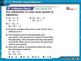 1 over lesson 6 3