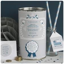 personalised ten year wedding anniversary tin