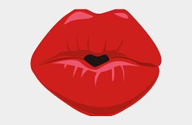 kissing lips clipart tongue cliparts