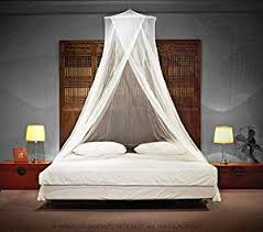TIMBUKTOO MOSQUITO NETS Luxury Mosquito NET - for Single to King Size Beds Quick and Easy Installation System - Unique Internal Loop - 2 Entries - ...