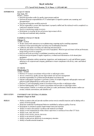 Download CT Tech Resume Sample as Image file