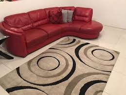 red sofa and cream rug 500 00 negotiable rouse hill
