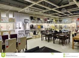 ikea furniture store variety chairs tables other vilnius lithuania opened