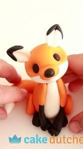 Cake Dutchess - How to make a <b>cute fox</b> cake topper using...