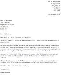 Job Application Cover Letter Banking Cv Resumes Maker Guide