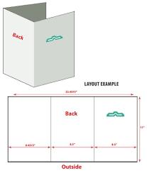 6 Sided Brochure Template 6 Sided Brochure Template 85 X 11 Folded Page Free Drabble Info
