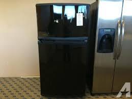kenmore elite fridge black. kenmore elite black top mount refrigerator - used fridge