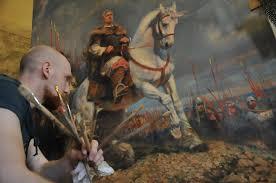Новая картина посвящённая князю Святославу СКОРО Перуница Новая картина посвящённая князю Святославу СКОРО