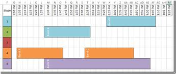 How To Make A Music Festival Schedule Using Excel