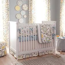 spa pom pon play crib bedding gender neutral baby carousel designs