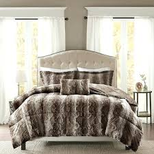 pine canopy faux fur comforter set free today intended for bedspread designs 1 twin decor