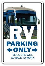 rv sign recreational vehicle motor home cer gift travel retirement winnebago