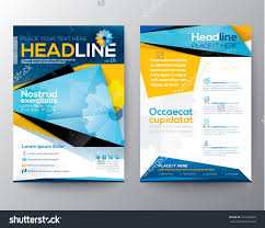 University Brochure Template Vector Blue Brochure Annual Report Flyer Magazine Cover Modern 9