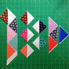 157 best Make It Simpler Quilts images on Pinterest   Quilting ... & A New Way to Use Up Leftover Triangles - On Craftsy Adamdwight.com
