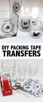 diy ng tape transfers