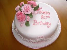 Best 80th Birthday Cake Ideas With Photos Classic Style