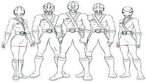 Power Ranger Coloring Pages To Print Power Rangers Mystic Force