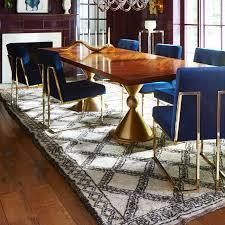 Living Room Furniture Tables Navy Velvet Dining Chair Interiors Pinterest Jonathan Adler