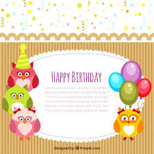 free happy birthday template birthday card template happy birthday card template free vector